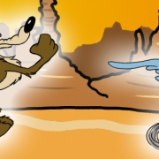 Wile E. Coyote jagt Roadrunner
