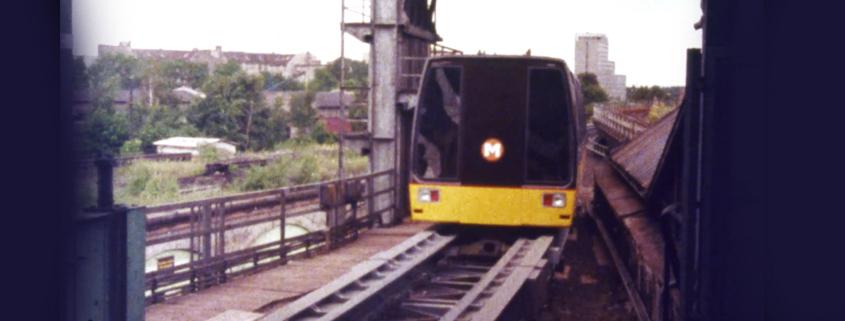 Magnetschwebebahn Berlin 1985