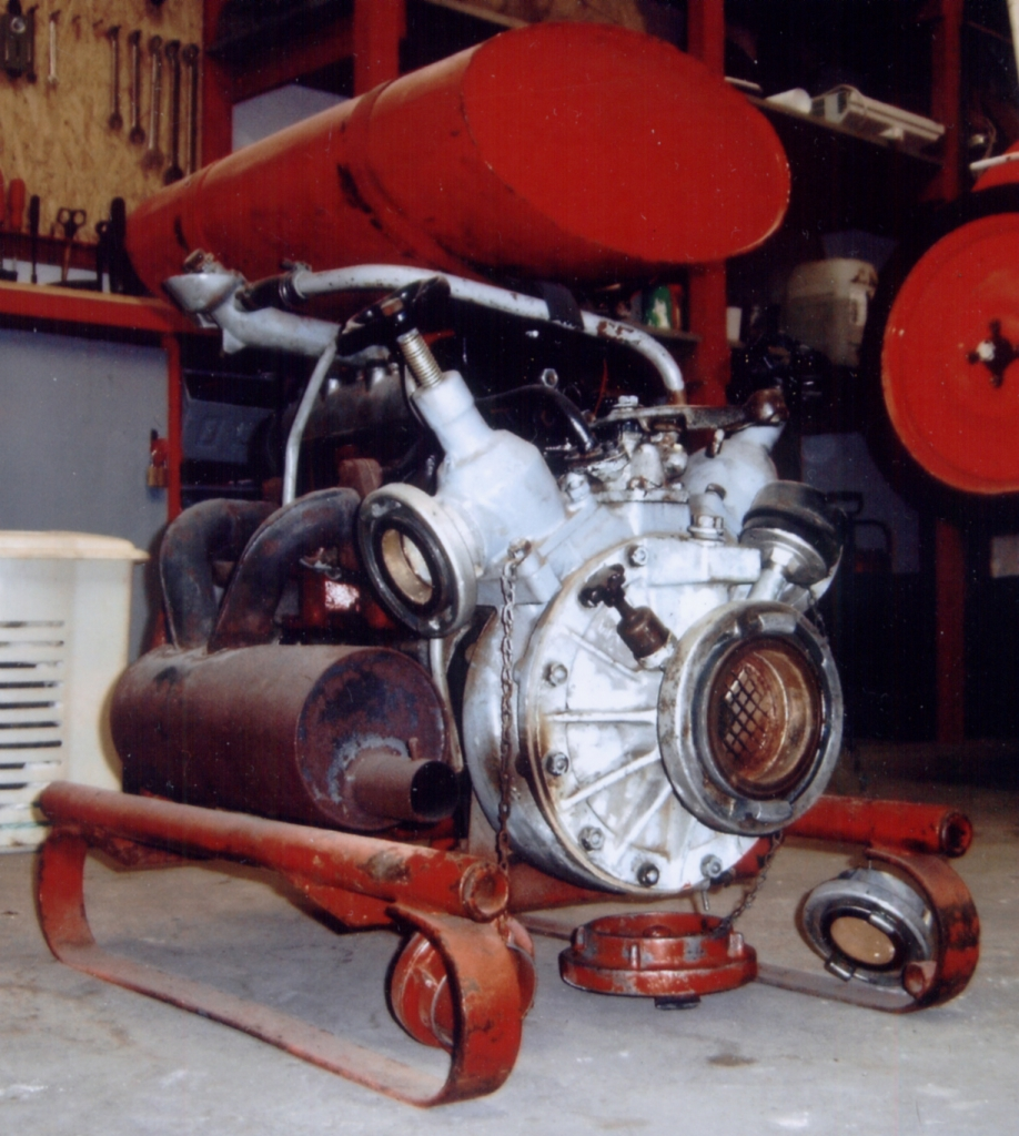 Vorlage Feuerlöschmaschine