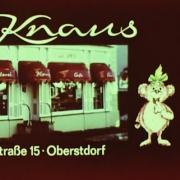 PANs Studio Kinowerbung 90er Jahre Café Knaus